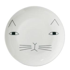 xcelsior, donna wilson, cat, šķīvis