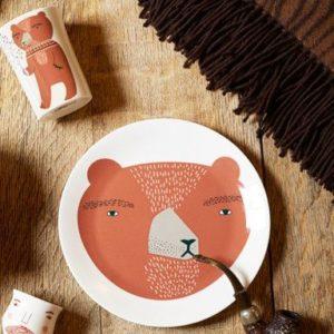 Donna Wilson, xcelsior, šķīvis ar lāci