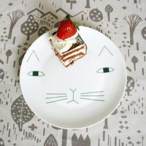 xcelsior, donna wilson, šķīvis, kaķis