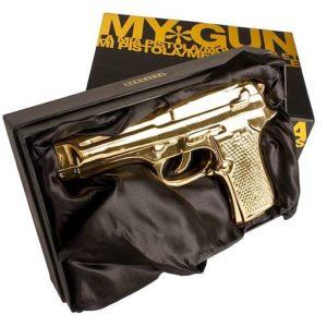 xcelsior, gold gun, seletti