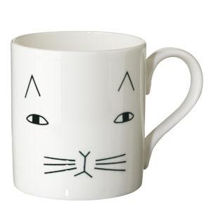 donna wilson, krūze, kaķis
