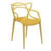 xcelsior, kartell, mustard, masters chair