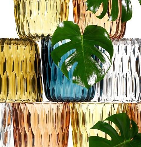 kartell, xcelsior, vase
