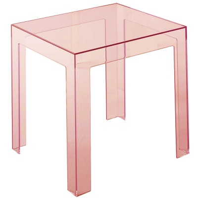 xcelsior, kartell, jolly table, caurspīdīgs