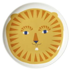 xcelsior, donna wilson, lauva, šķivis, šķīvis bērniem