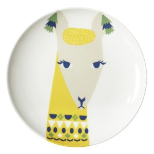 xcelsior, donna wilson, plate, lama
