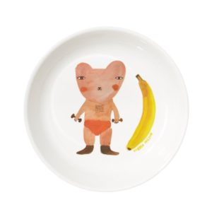 xcelsior, donna wilson, šķivis, banāns, lācis
