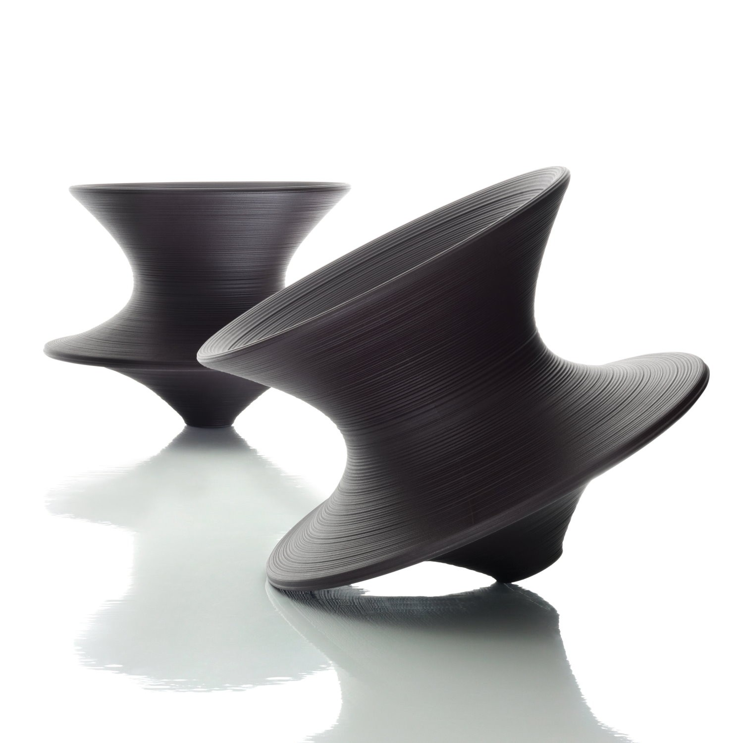 Spun rotating chair