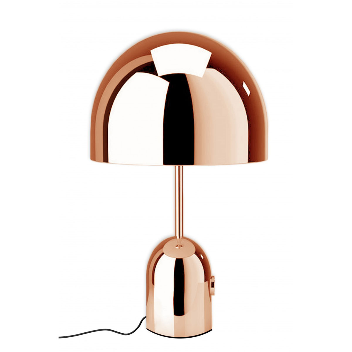 bell table light copper xcelsior selection online store. Black Bedroom Furniture Sets. Home Design Ideas