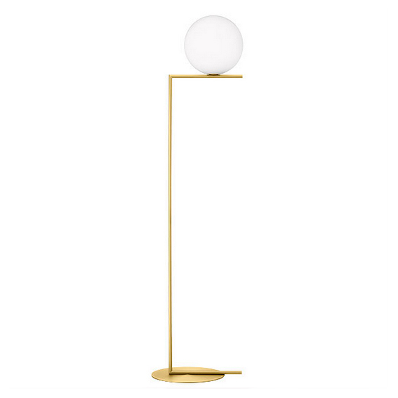 Ic f2 floor lamp xcelsior selection online store for Captured glass floor lamp