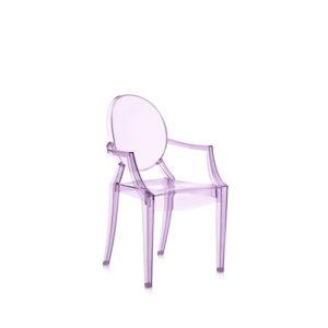 xcelsior, kartell, phillipe stark, dizaina krēsls, lou lou ghost, bērnu krēsls