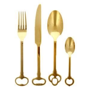 xcelsior, seletti, gold keytlery, galda piederumi, dizaina preces