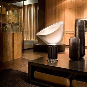 xcelsior, flos, dizaina lampa, galda lampa