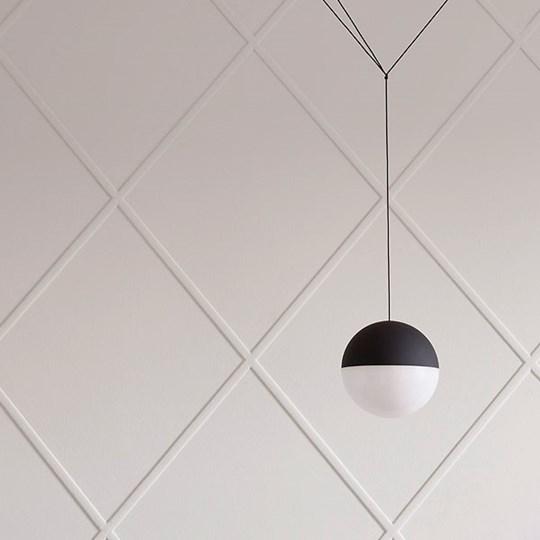 xcelsior, flos, string light, lampa, dizaina lampa