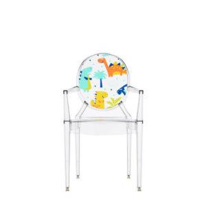 xcelsior, kartell, lou lou ghost, bērnu krēsliņš, dizaina krēsls, caurspīdīgs krēsls, filips stārks