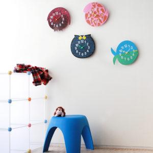 xcelsior, zoo timers, sienas pulkstenis, bērnu istabas pulkstenis