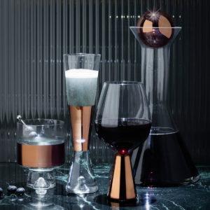 xcelsior, tom dixon, tank, glāzes, vīna glāzes