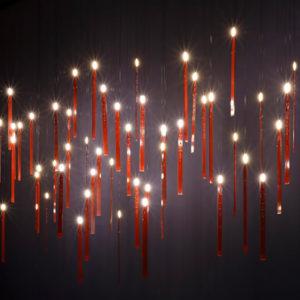 xcelsior, ingo maurer, dizaina lampa, led svece