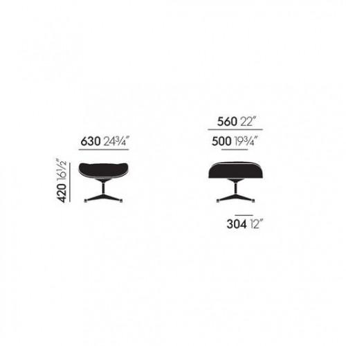 xcelsior, vitra, Charles & Ray Eames, Eames kēsls, Eames atpūtas krēsls