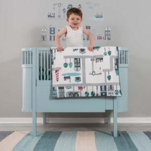 xcelsior, sebra, bērnu gultiņa, dizaina gultiņa