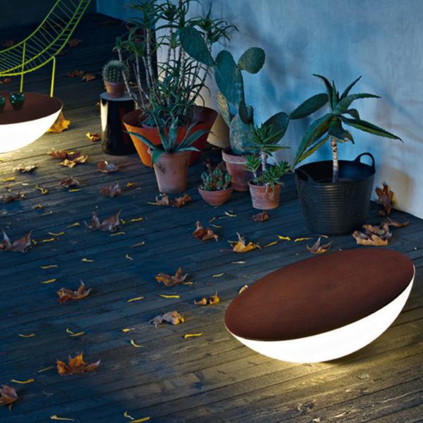 xcelsior, foscarini, āra lampa, dizaina lampa, lampa galds