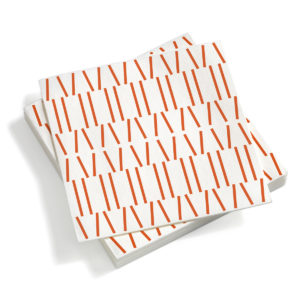 broken lines orange