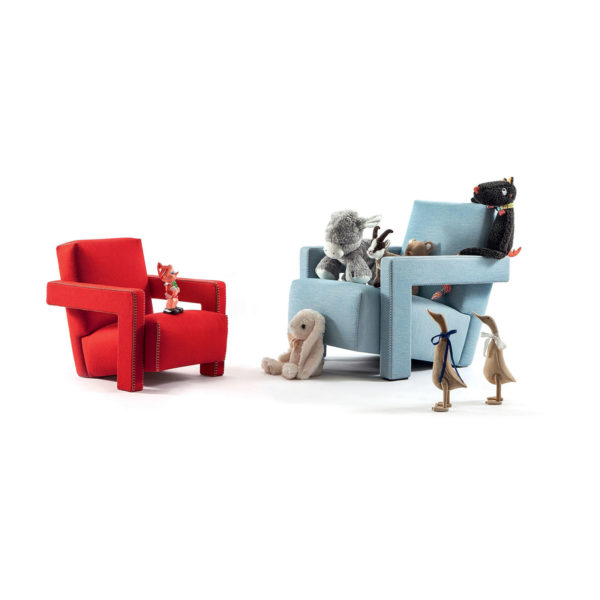 xcelsior, cassina, bērnu krēsls, bērnu zvilnis, dizaina ikona