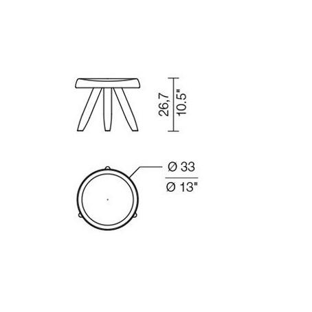 xcelsior, cassina, taburete, dizaina taburete, dizaina ikona