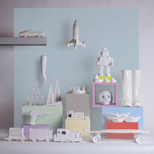 xcelsior, seletti, porcelāna laiviņas, papīra laiviņas, dāvana, dizaina dāvana
