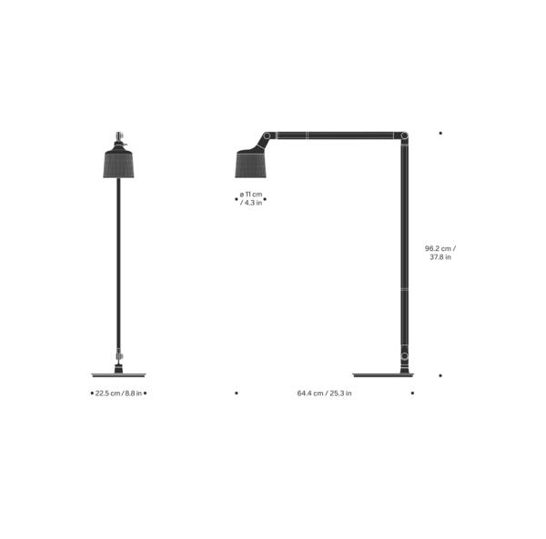 xcelsior, vipp, grīdas lampa