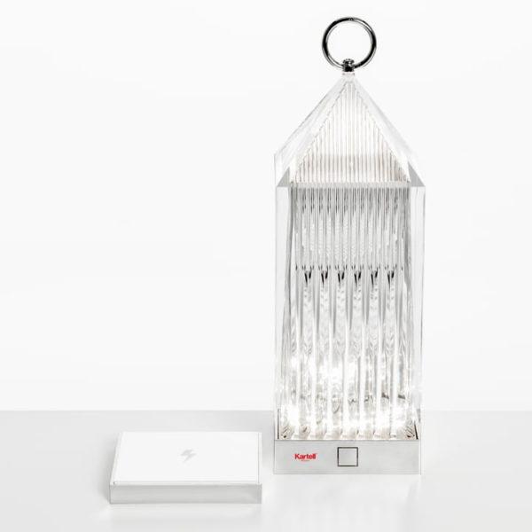 xcelsior, kartell, lantern, lampa, lampa uz baterijām