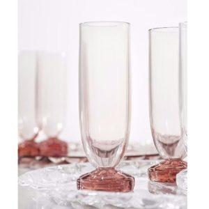 xcelsior, kartell, glāze, jellies, šampanieša glāze