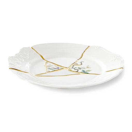 xcelsior, seletti, kintsugi, šķīvis, dizaina šķīvis, dāvana