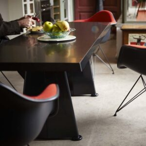 vitra, jean prouve, trapeze table, galds, garš galds