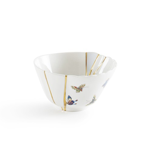 seletti, fruit bowl, kintsugi
