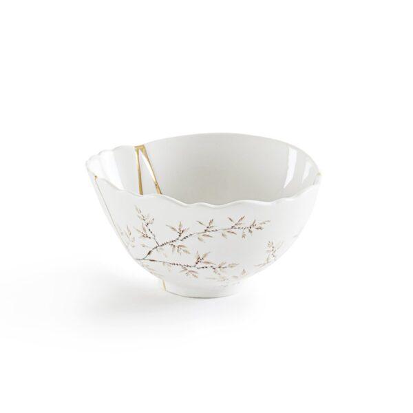 seletti, fruit bowl, kintsugi